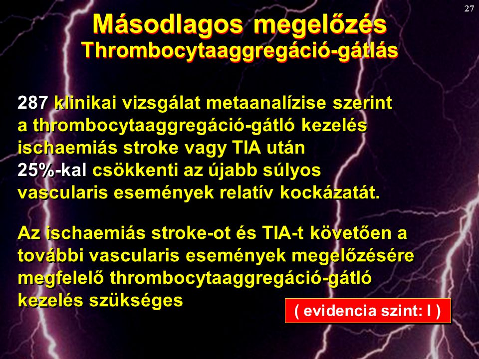 Thrombocytaaggregáció-gátlás