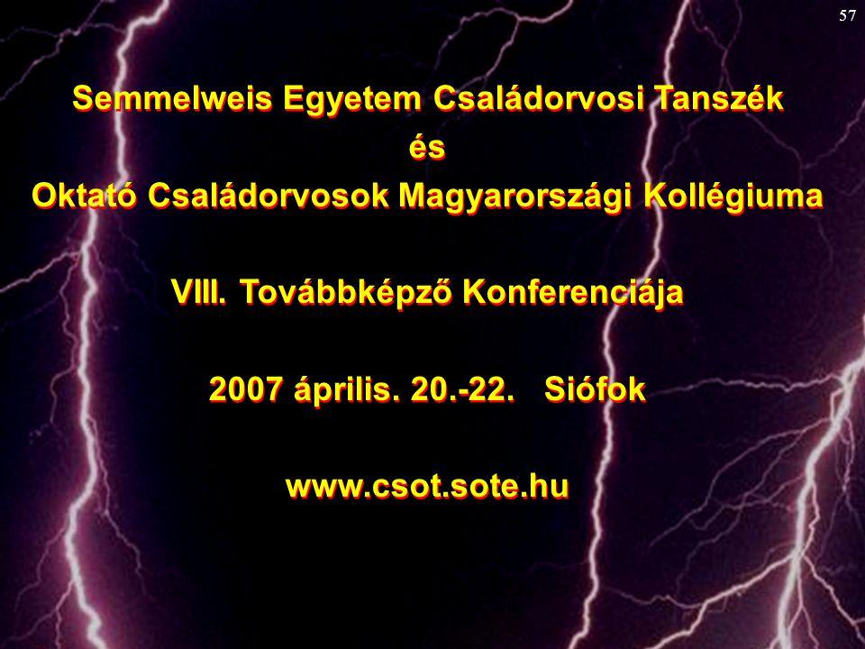 Semmelweis Egyetem Családorvosi Tanszék és