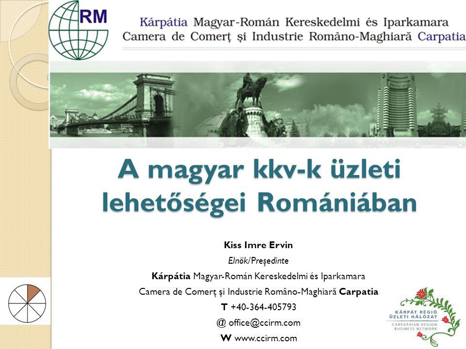 A magyar kkv-k üzleti lehetőségei Romániában