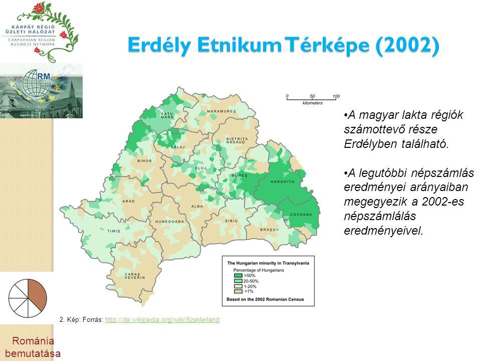 Erdély Etnikum Térképe (2002)