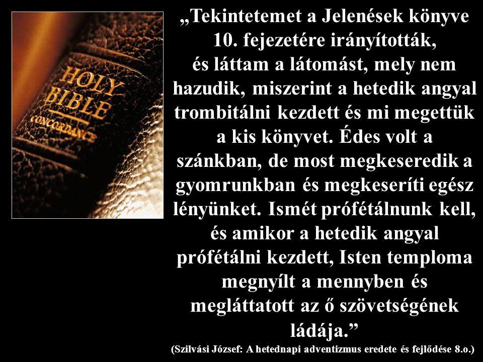 """""""Tekintetemet a Jelenések könyve 10"""
