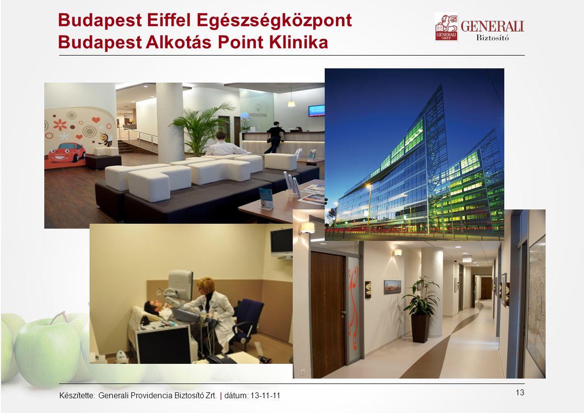 Budapest Eiffel Egészségközpont Budapest Alkotás Point Klinika