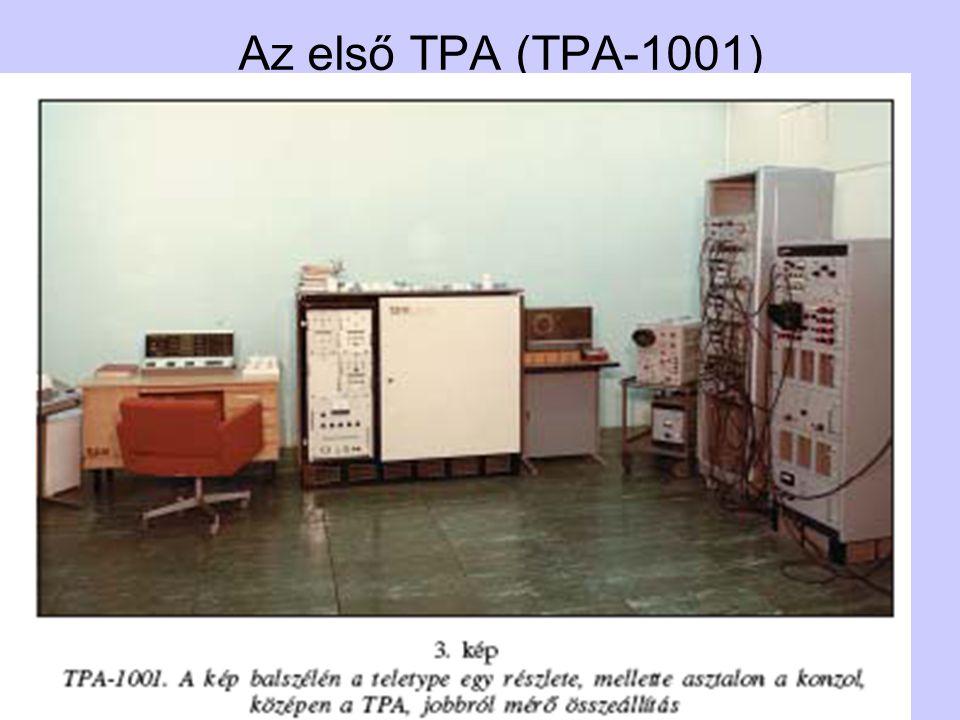 Az első TPA (TPA-1001) TPA történet