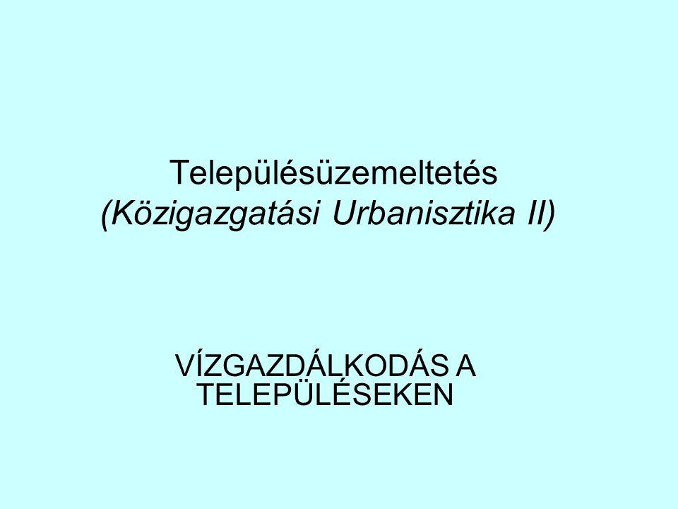 Településüzemeltetés (Közigazgatási Urbanisztika II))