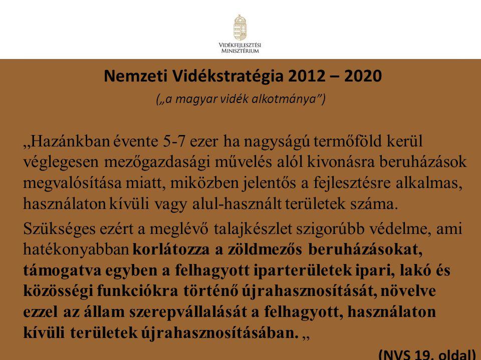 Nemzeti Vidékstratégia 2012 – 2020