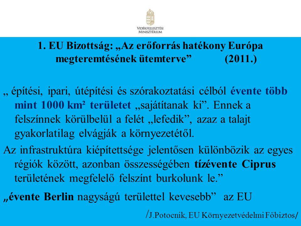 """""""évente Berlin nagyságú területtel kevesebb az EU"""