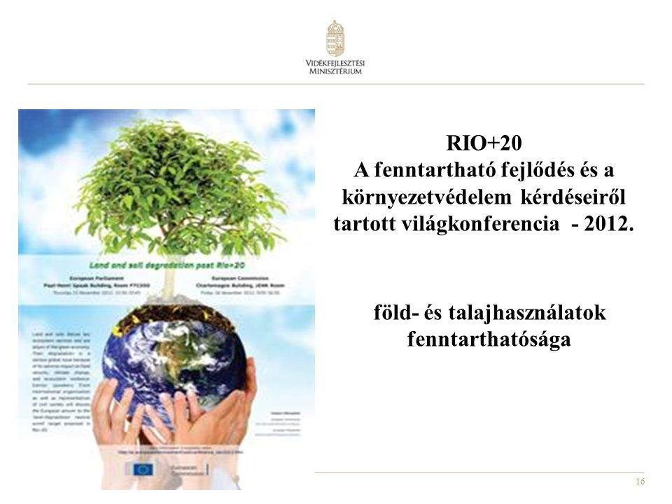 föld- és talajhasználatok fenntarthatósága