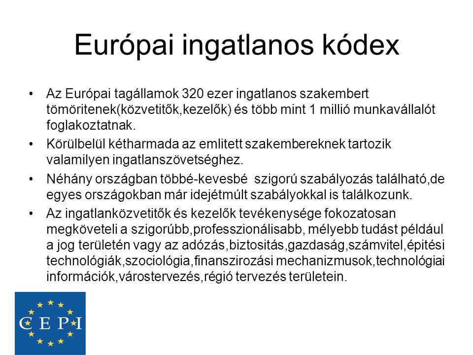 Európai ingatlanos kódex