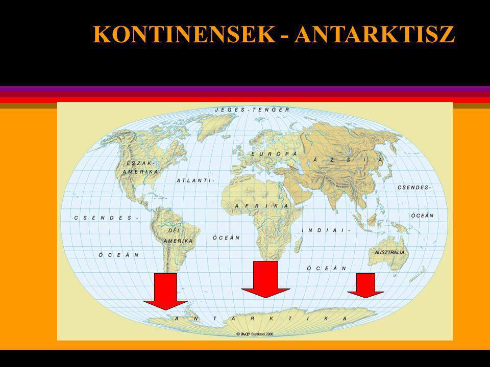 KONTINENSEK - ANTARKTISZ