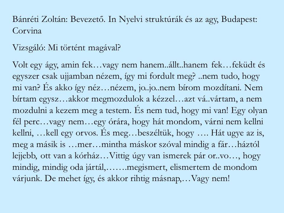 Bánréti Zoltán: Bevezető