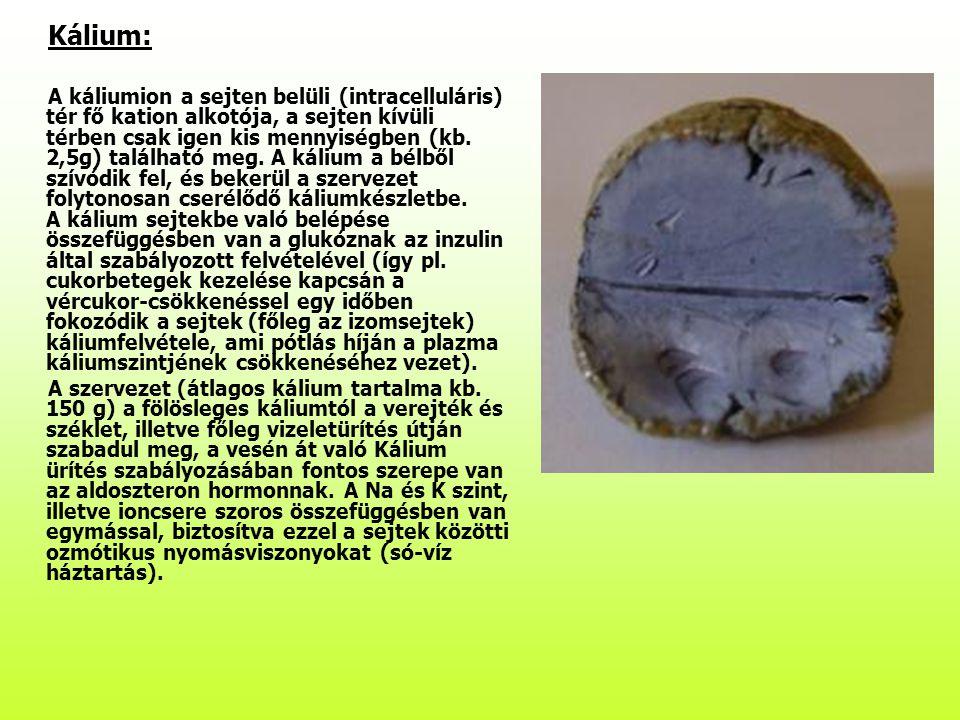 Kálium:
