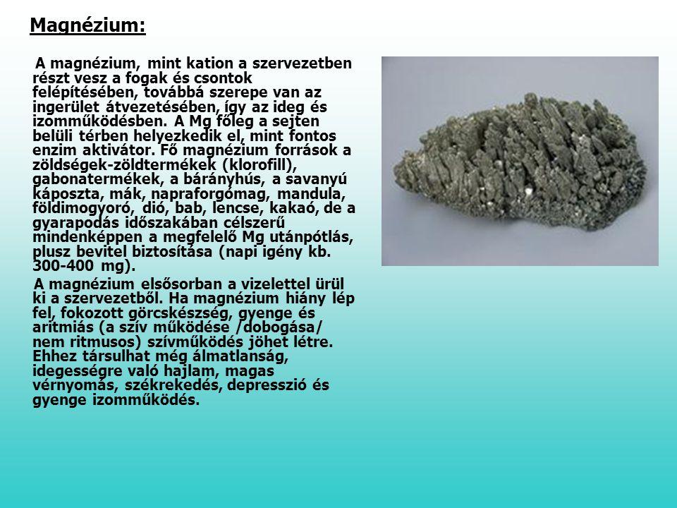 Magnézium: