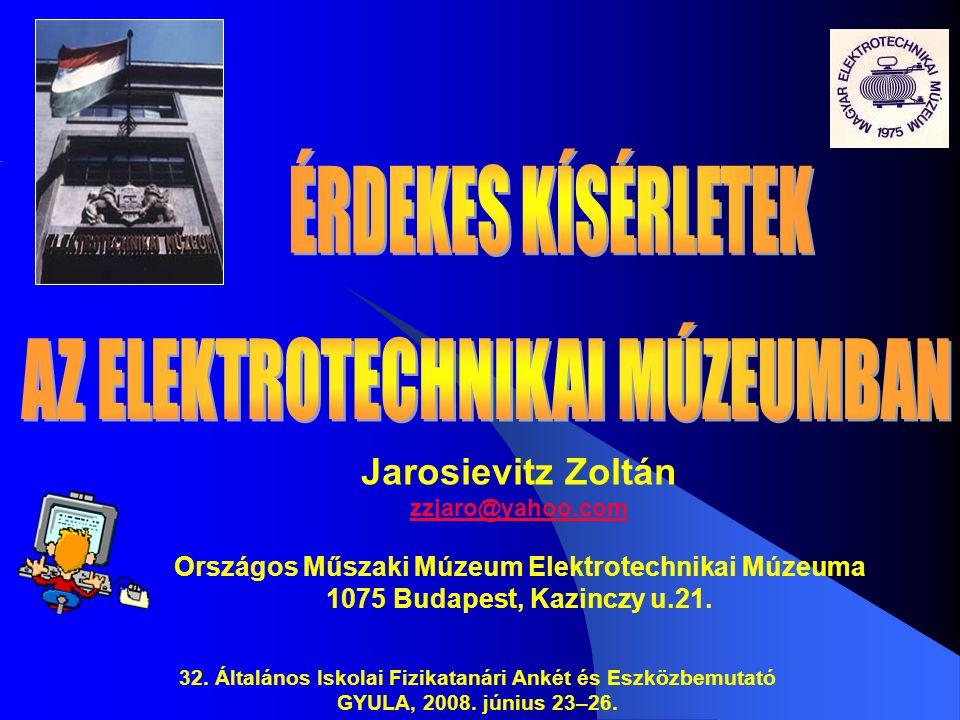 Országos Műszaki Múzeum Elektrotechnikai Múzeuma