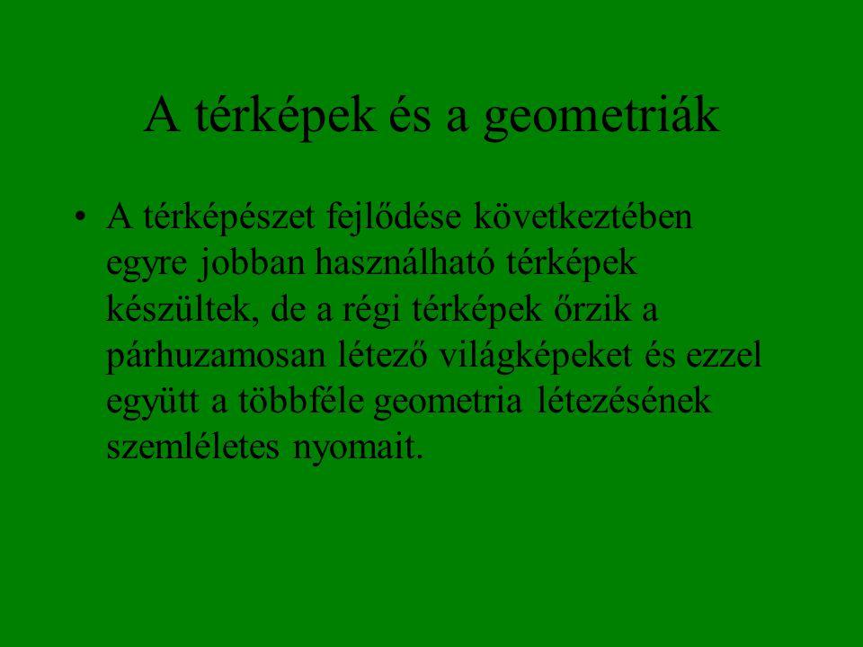 A térképek és a geometriák