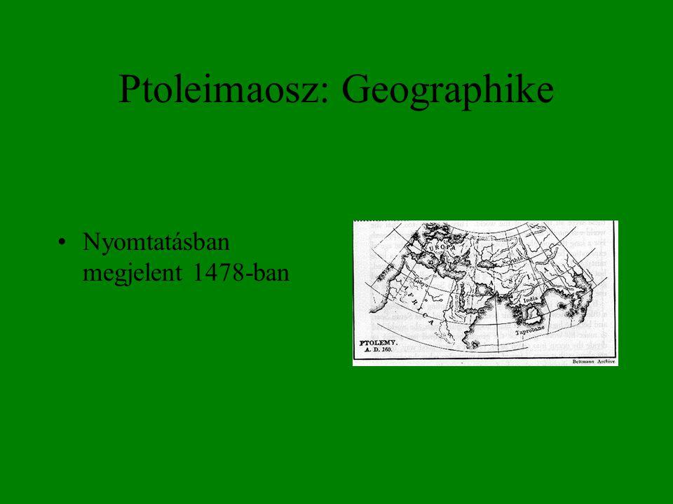 Ptoleimaosz: Geographike