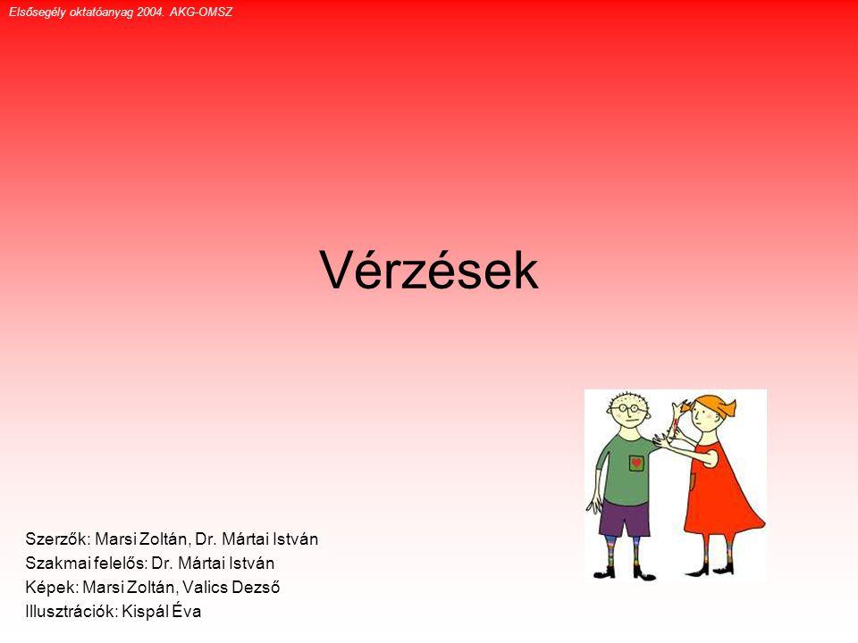 Vérzések Szerzők: Marsi Zoltán, Dr. Mártai István