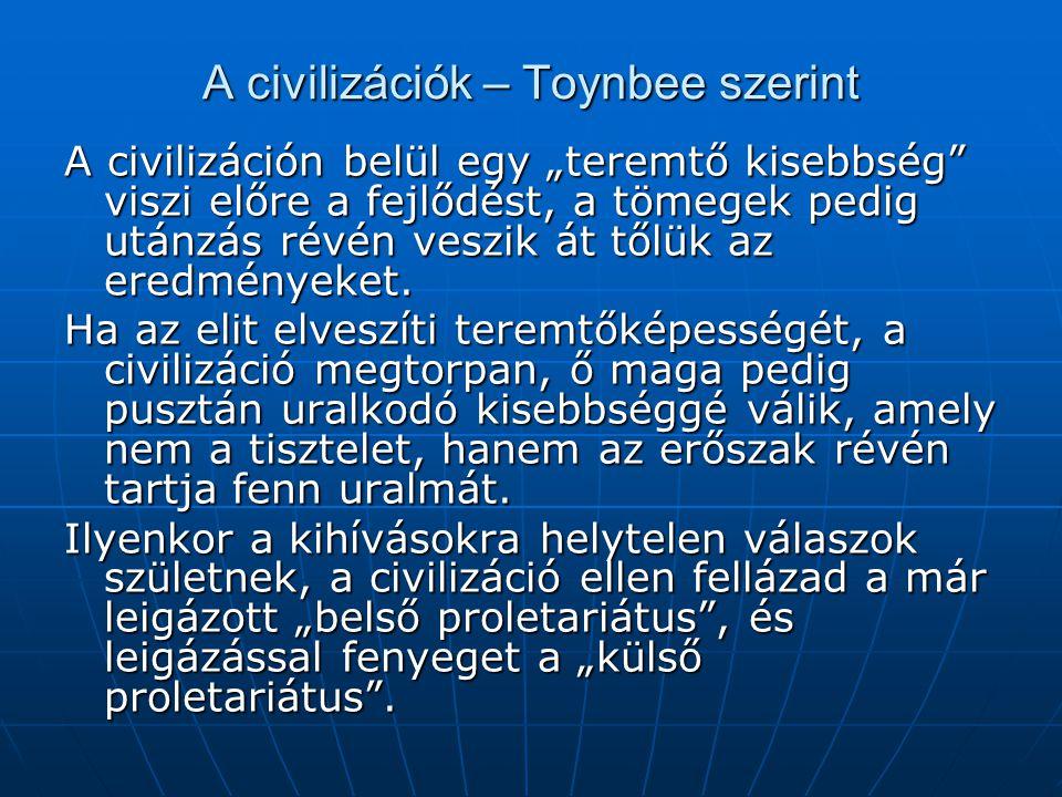 A civilizációk – Toynbee szerint