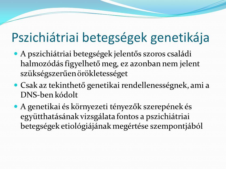 Pszichiátriai betegségek genetikája