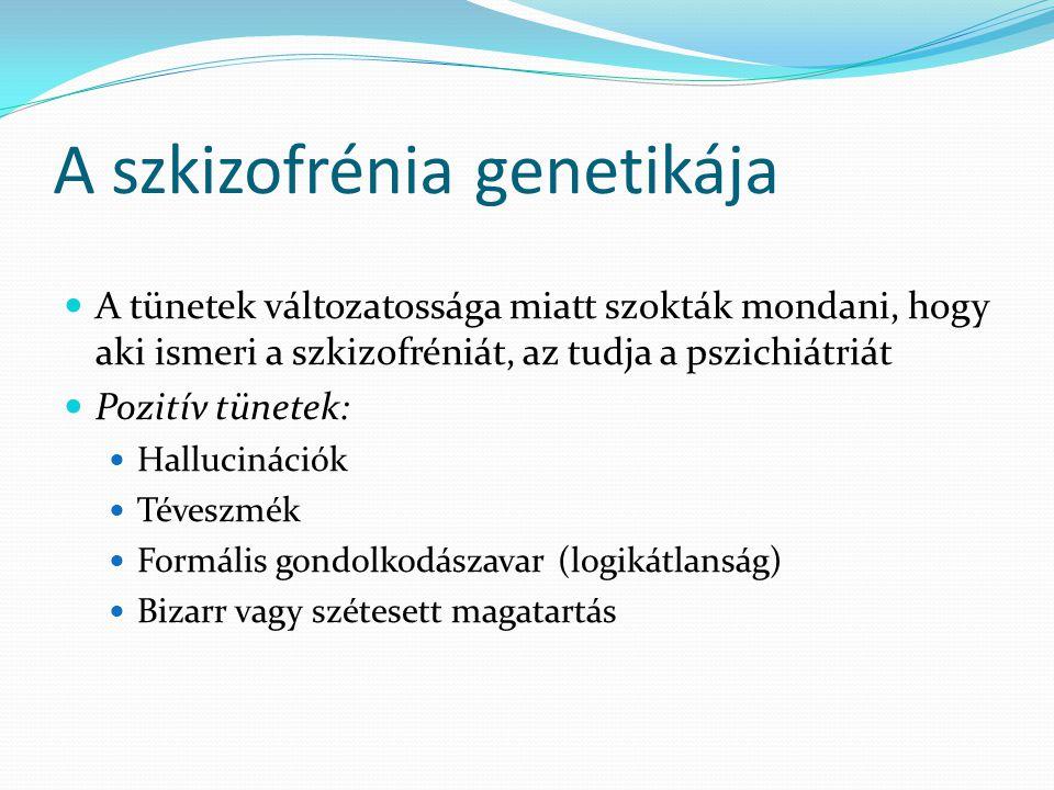 A szkizofrénia genetikája