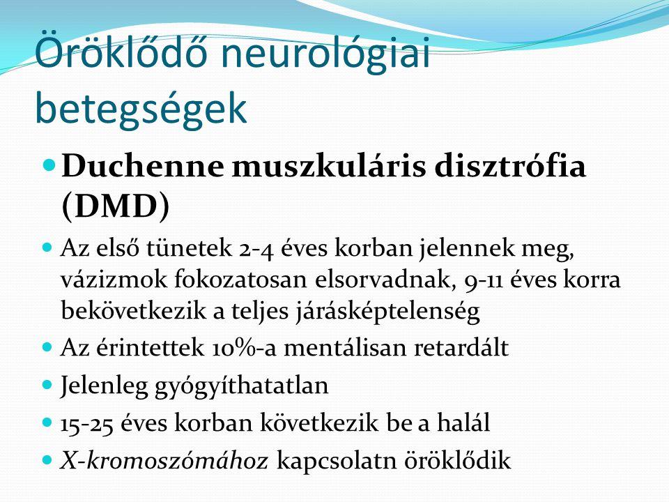 Öröklődő neurológiai betegségek