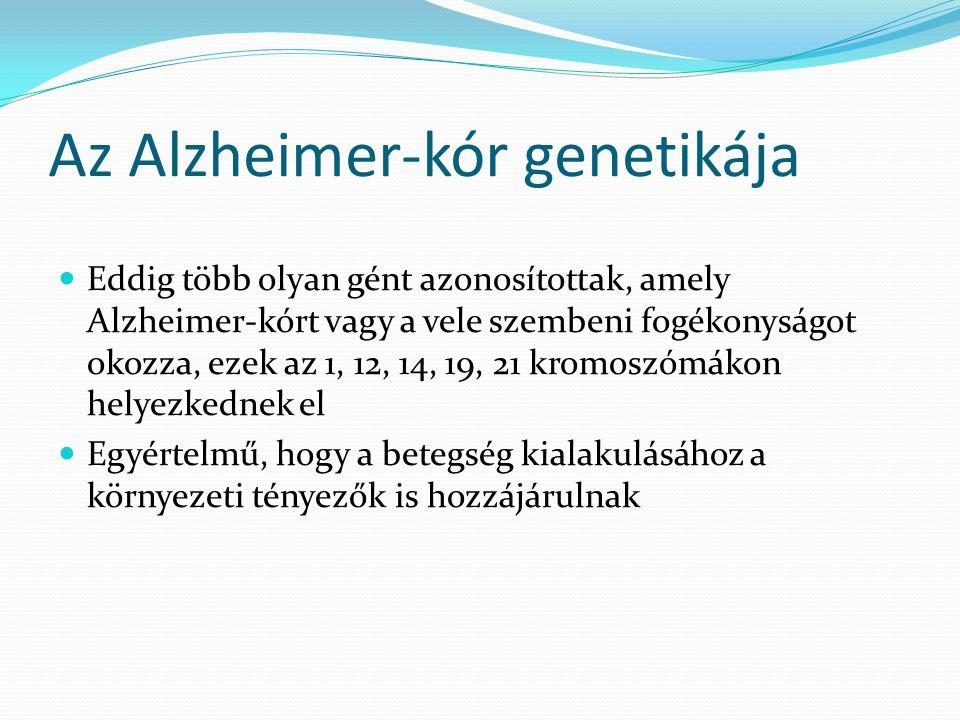 Az Alzheimer-kór genetikája