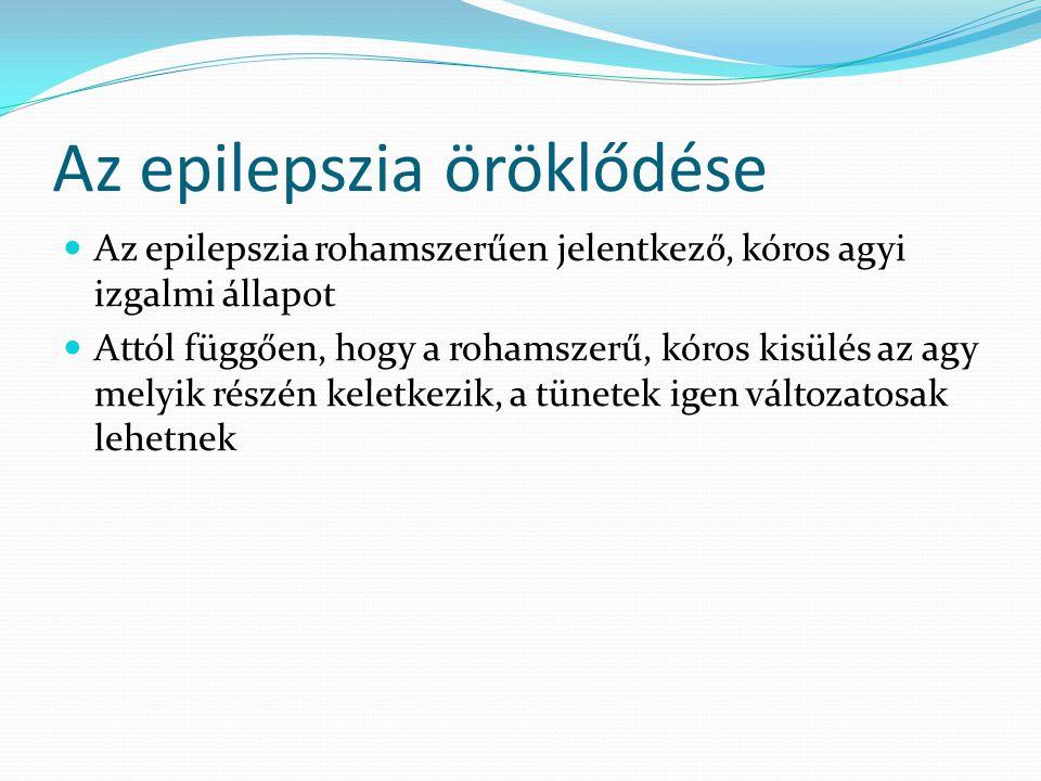 Az epilepszia öröklődése