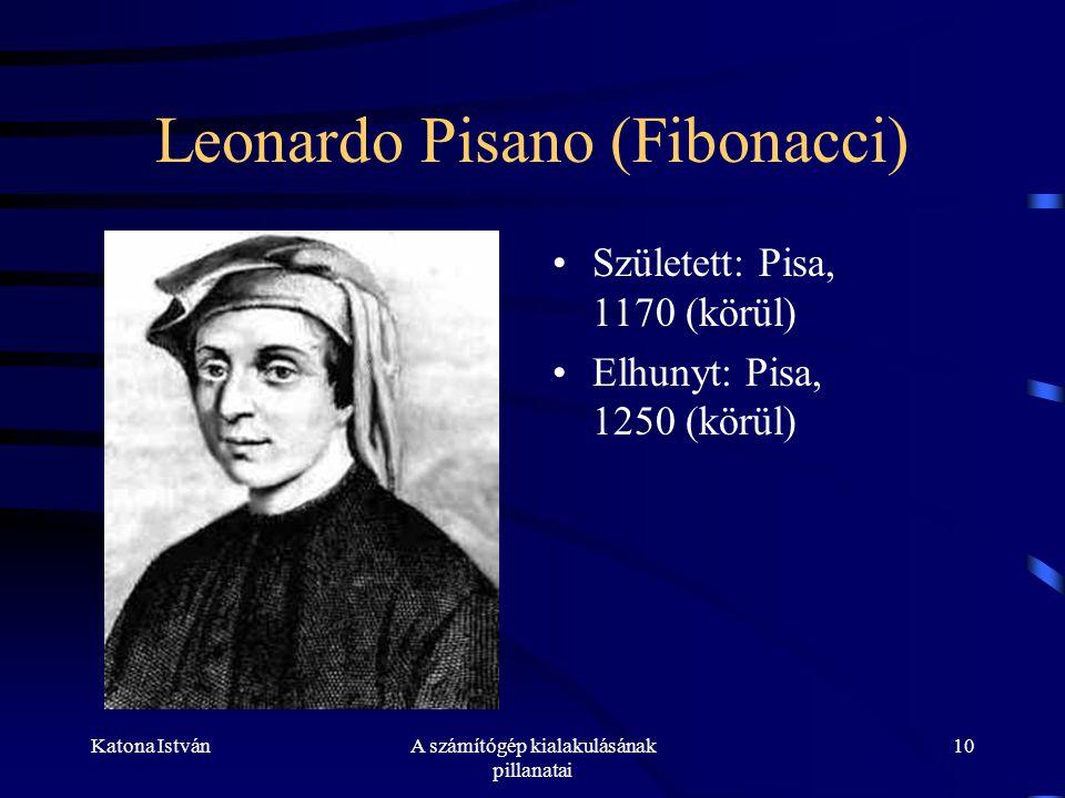 Leonardo Pisano (Fibonacci)