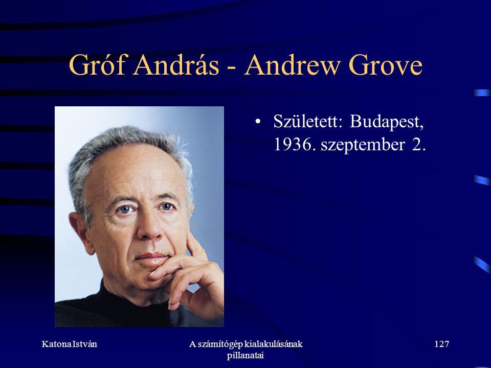 Gróf András - Andrew Grove