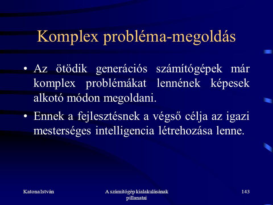 Komplex probléma-megoldás