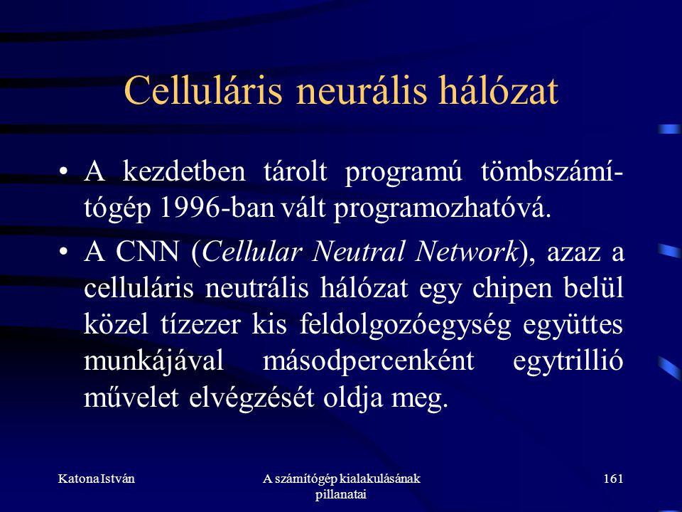 Celluláris neurális hálózat