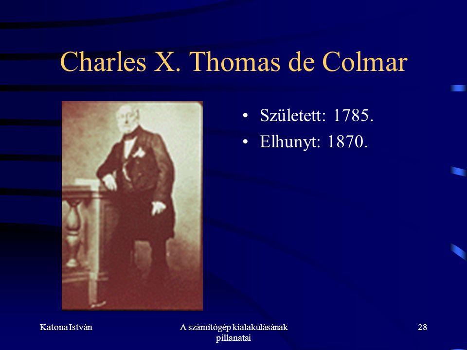 Charles X. Thomas de Colmar