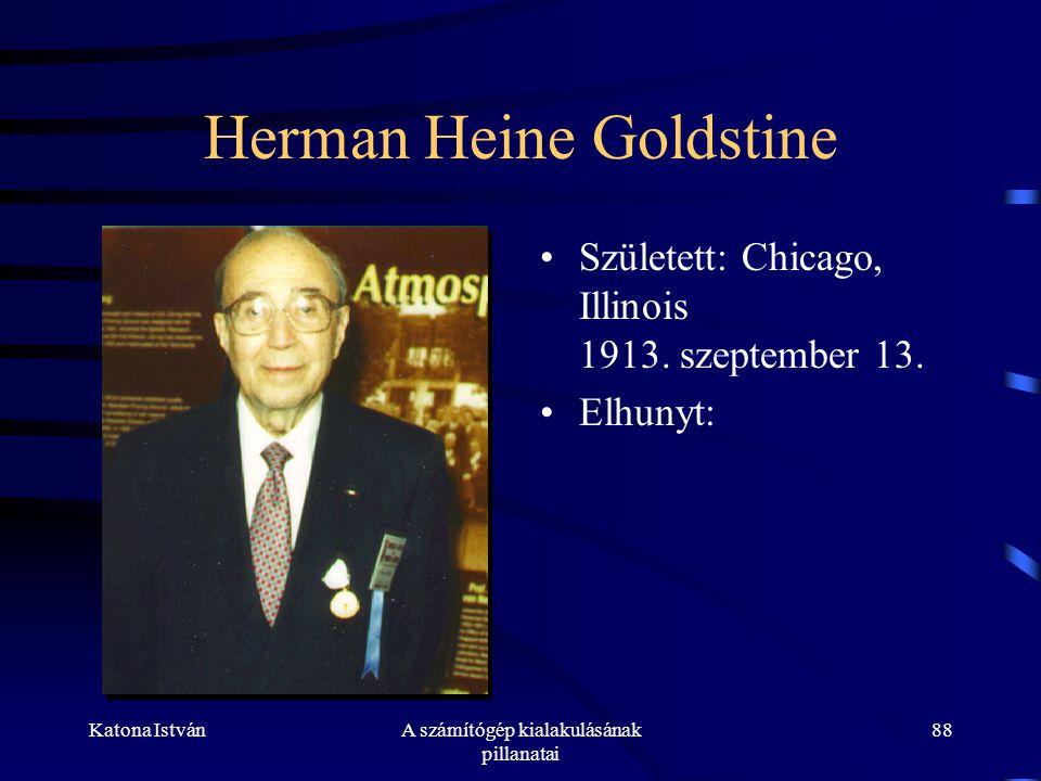 Herman Heine Goldstine