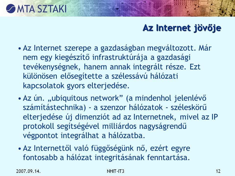 Az Internet jövője