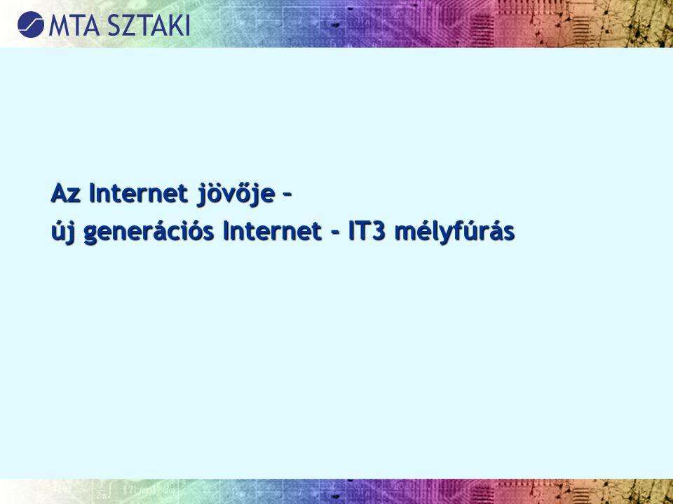 Az Internet jövője – új generációs Internet - IT3 mélyfúrás