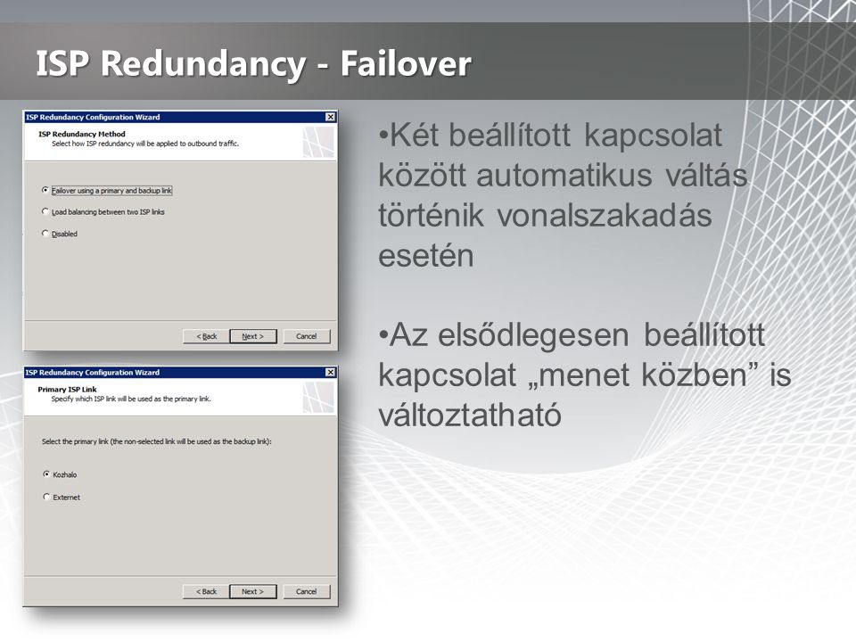ISP Redundancy - Failover