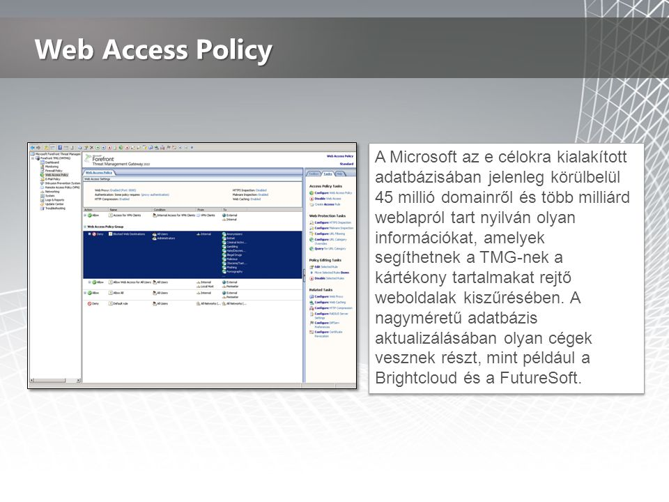 Web Access Policy