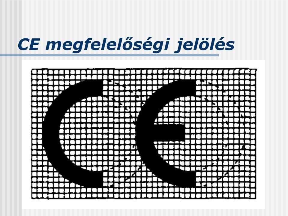 CE megfelelőségi jelölés