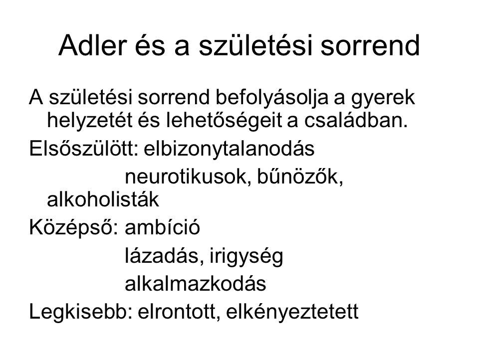 Adler és a születési sorrend