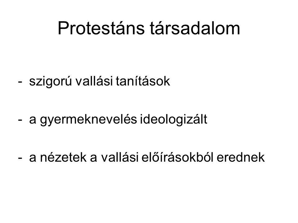 Protestáns társadalom