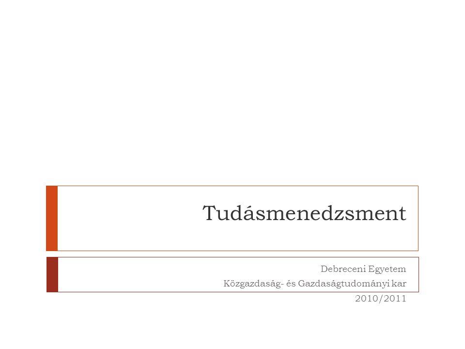 Debreceni Egyetem Közgazdaság- és Gazdaságtudományi kar 2010/2011