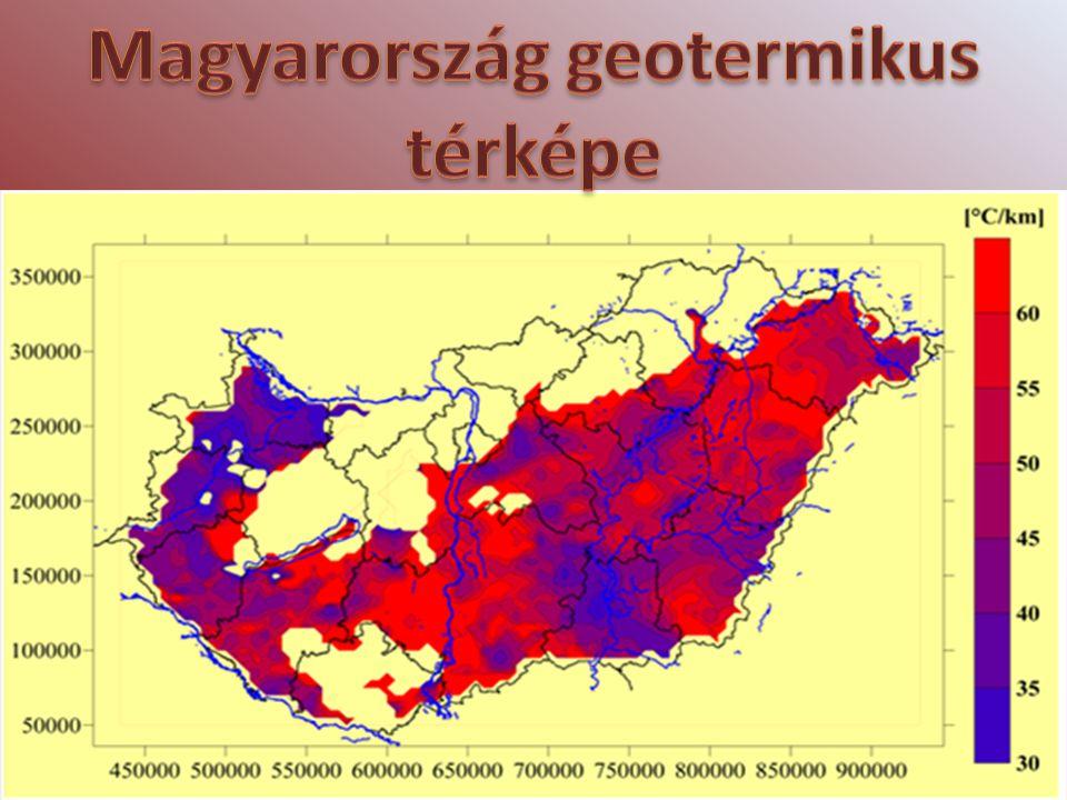 Magyarország geotermikus térképe