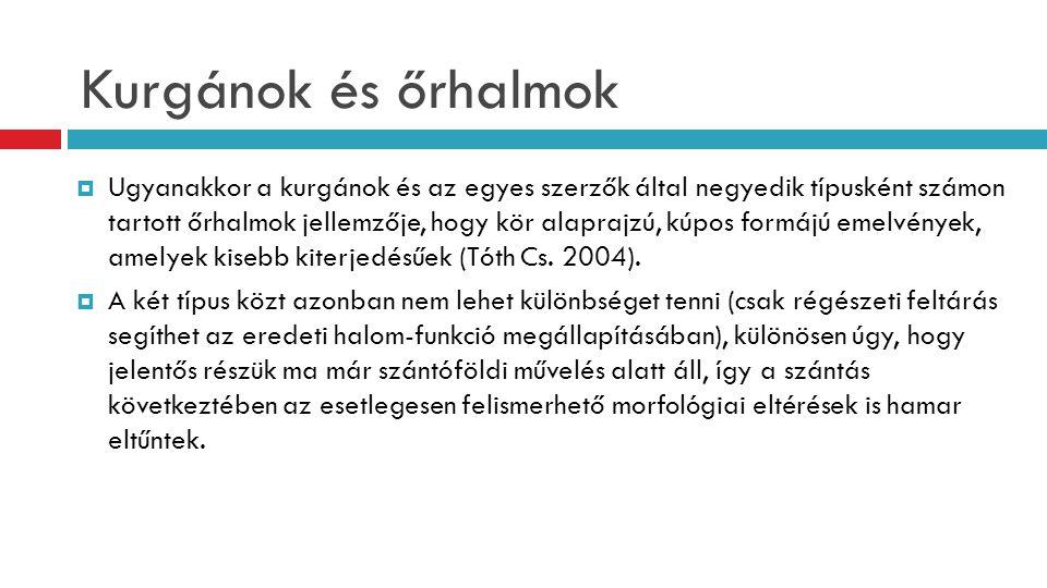 Kurgánok és őrhalmok