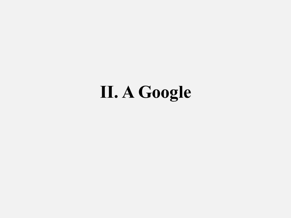 II. A Google