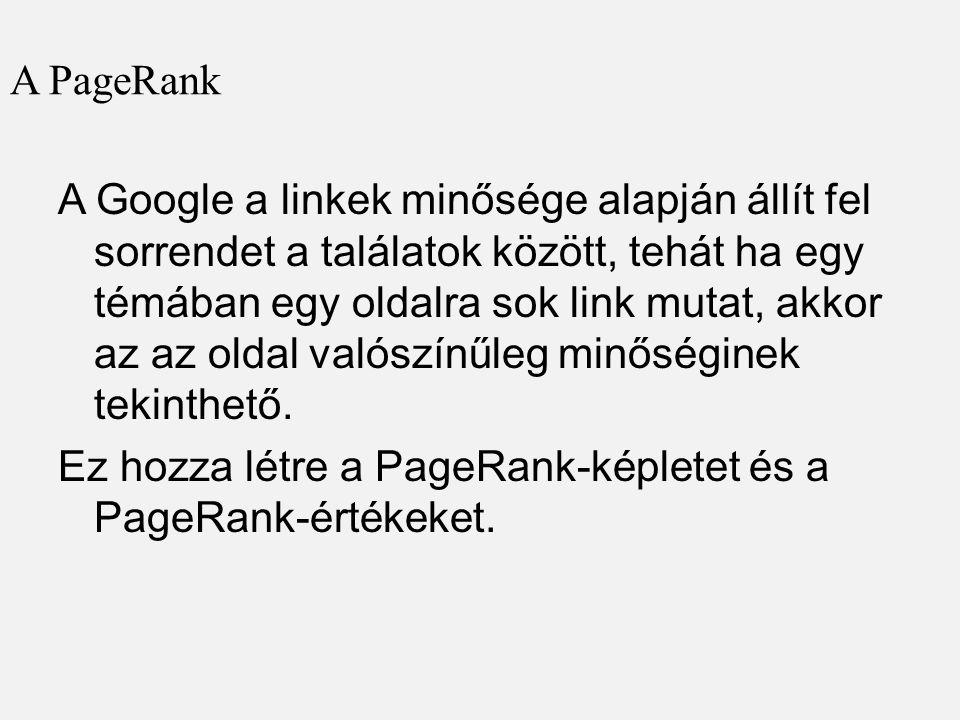 A PageRank