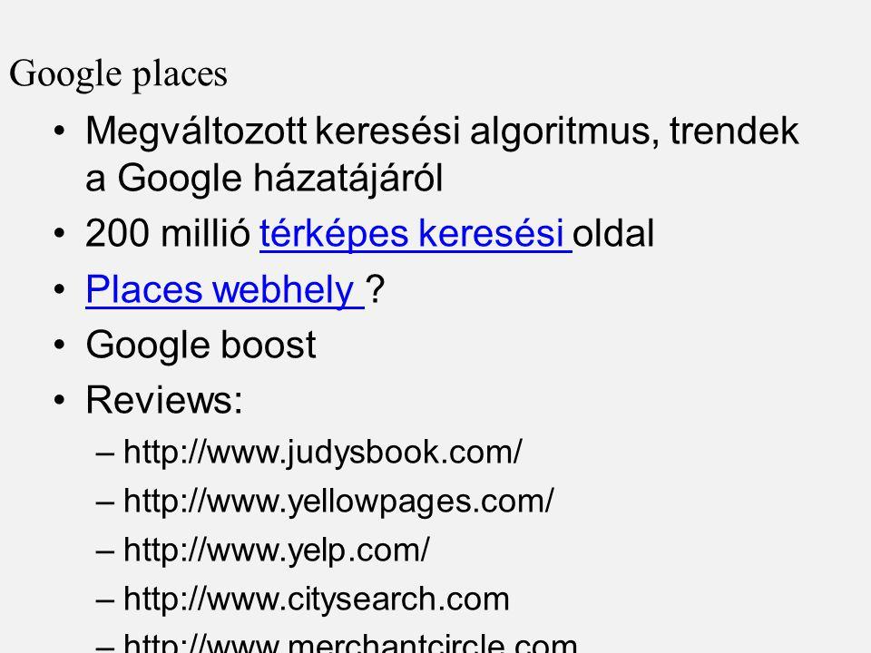 Megváltozott keresési algoritmus, trendek a Google házatájáról