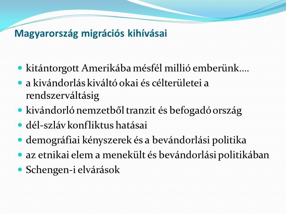 Magyarország migrációs kihívásai