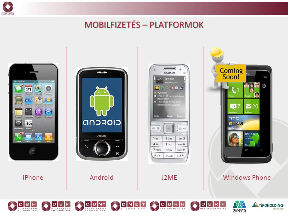Mobilfizetés – platformok