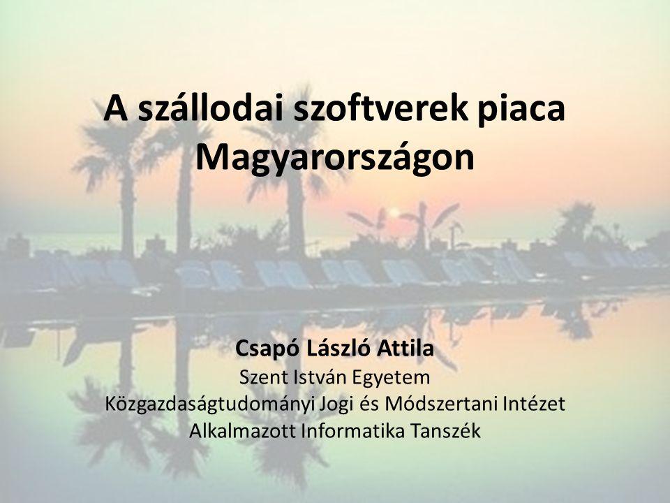 A szállodai szoftverek piaca Magyarországon