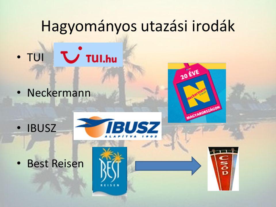 Hagyományos utazási irodák