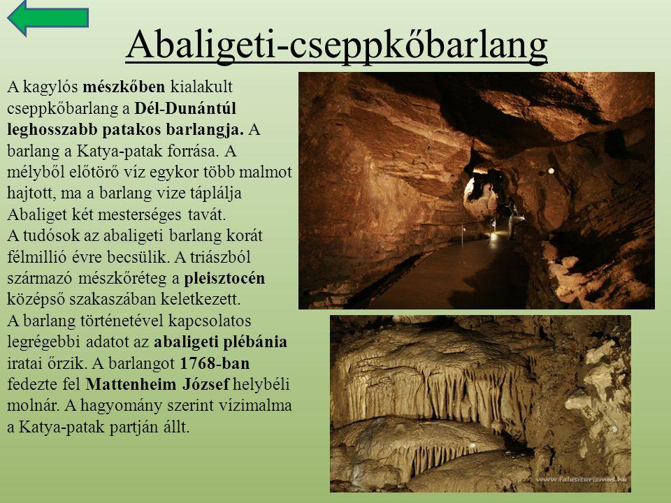 Abaligeti-cseppkőbarlang